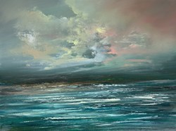 The Passing Storm I by Philip Raskin -  sized 24x18 inches. Available from Whitewall Galleries